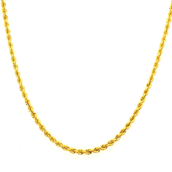 Rope Chain Chinese Gold